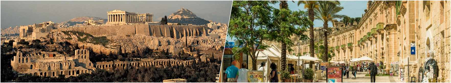 Athens - Valetta