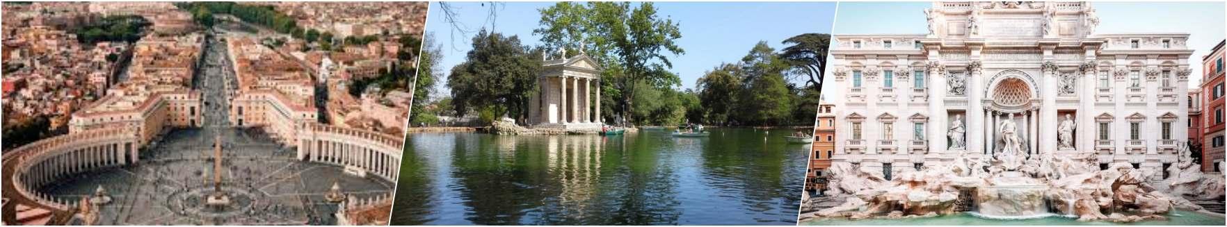 Rome - Tiverina - Trevi Fountain
