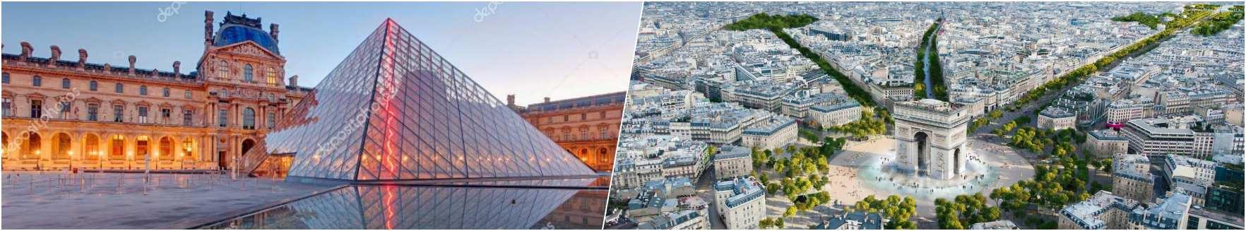 Louvre - Champs Elysees