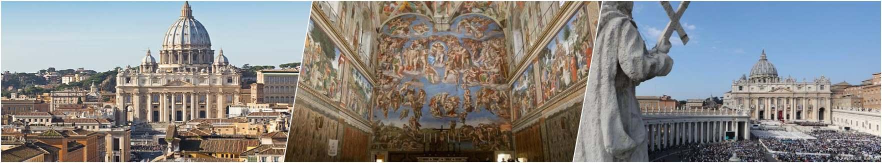 St. Peters Cathedral - Capela Sistina -Vatican Museum