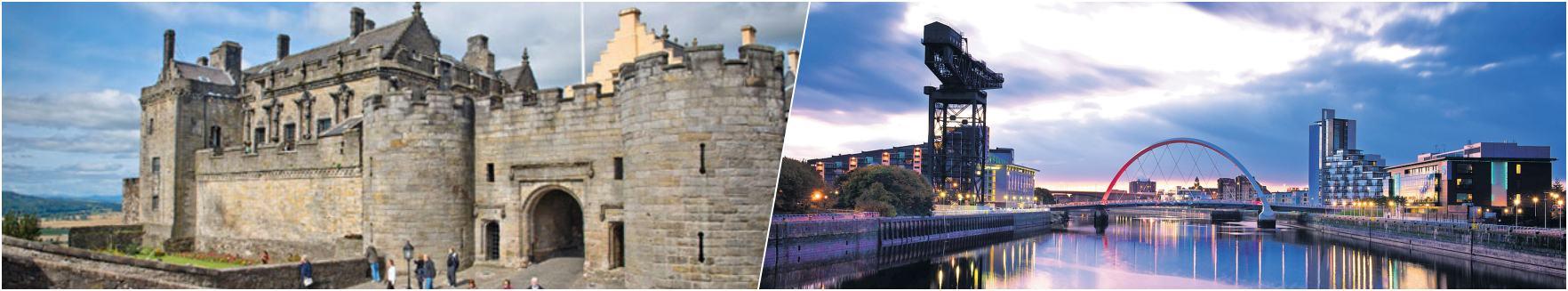Stirling Castle - Clyde River