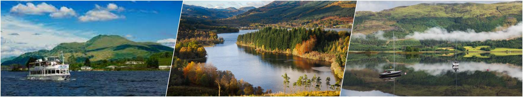 Loch Lomond - Trossachs - Glencoe