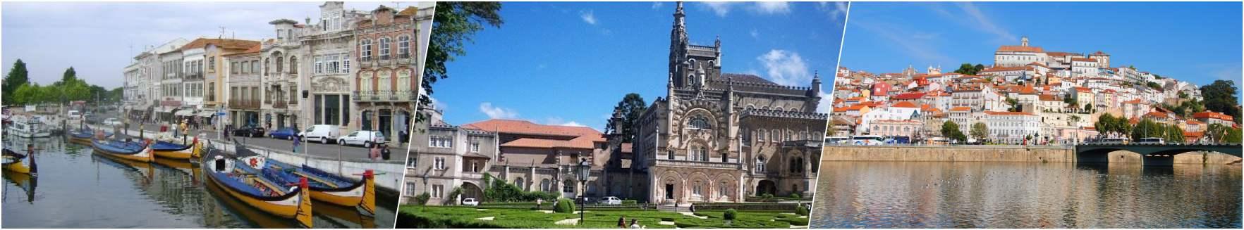 Aveiro - Bussaco Palace - Coimbra