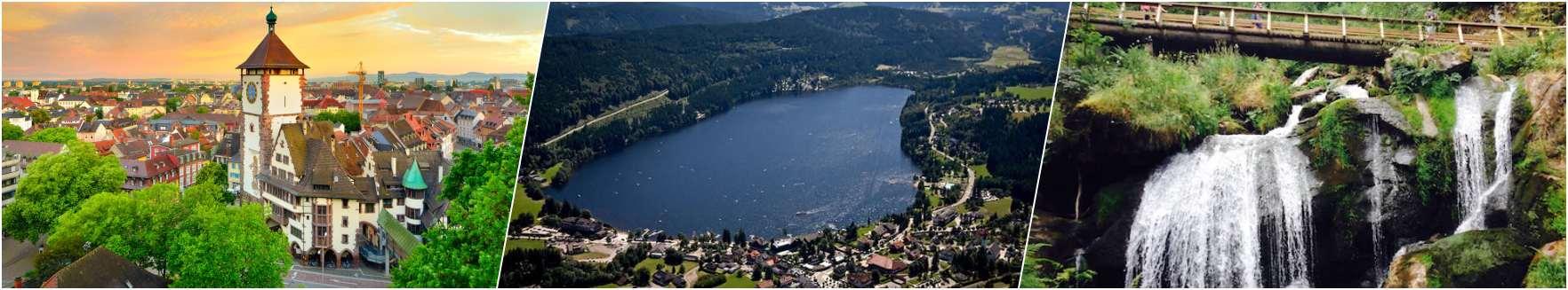 Freiburg - Titisee Lake - Triberg