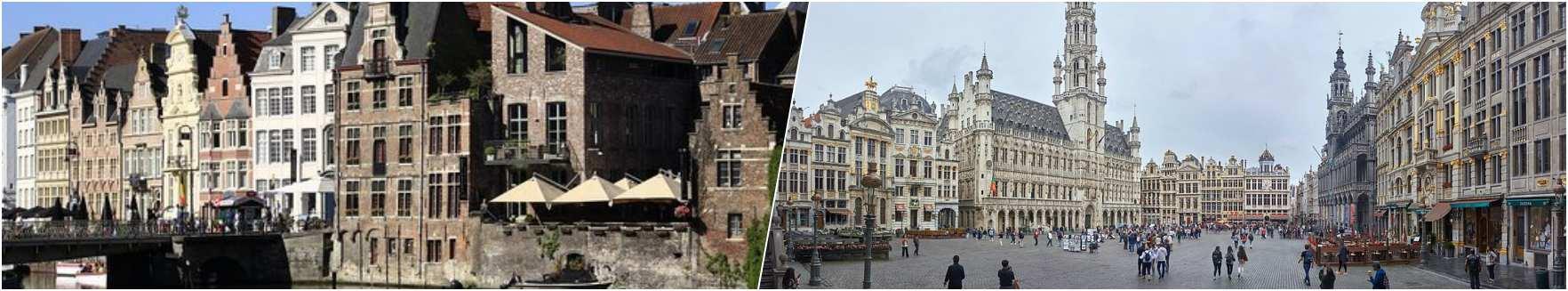 Ghent - Grande Place Brussels
