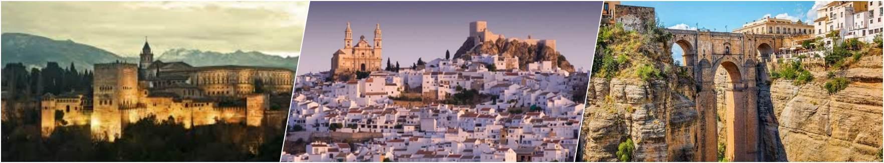 Granada - Pueblo Blanco - Ronda