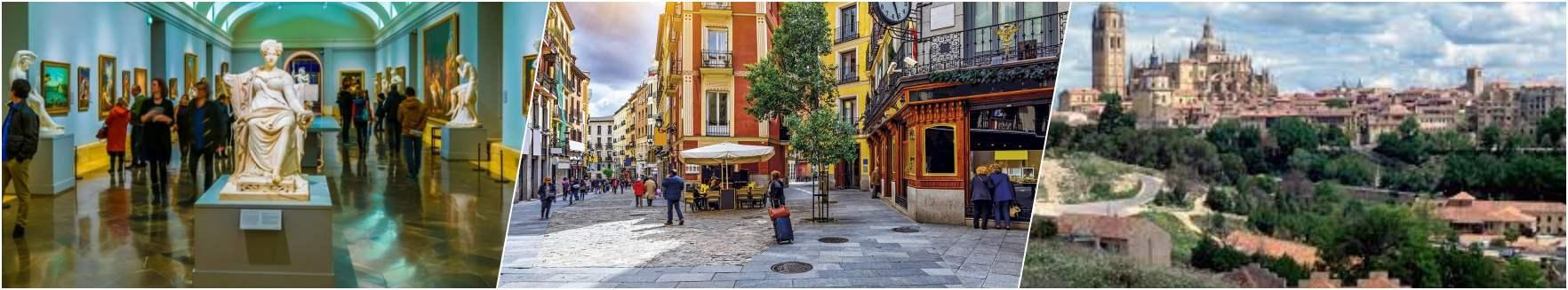 Prado Museum - Barrio de las letras - Segovia