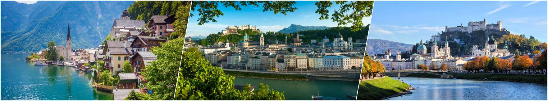 Salzkammergut - Salzburg - Hohensalzburg
