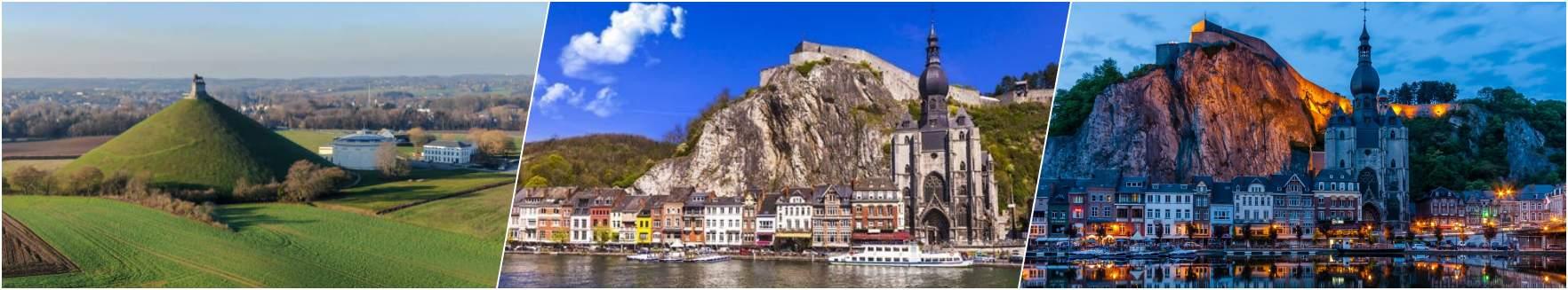 Waterloo - Namur - Dinant