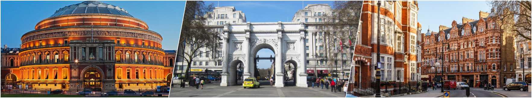 Royal Albert HAll - Marble Arch - Mayfair
