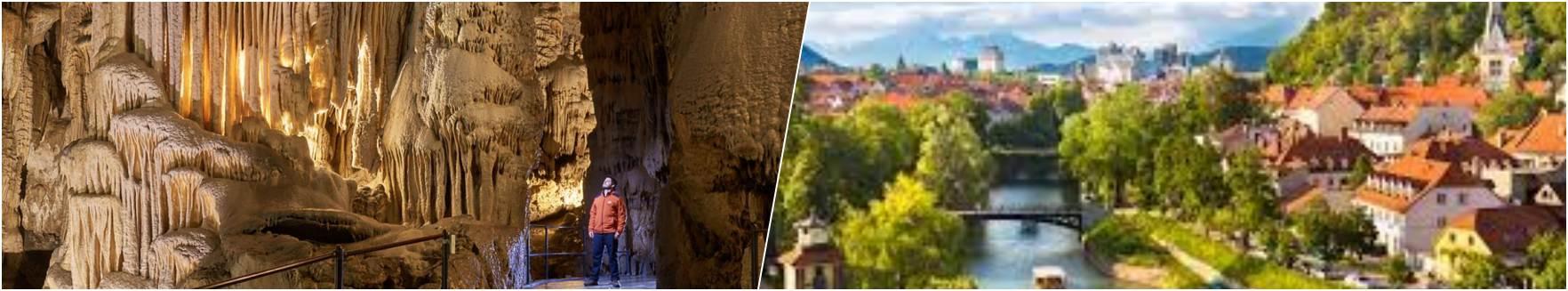 Postojna Caves - Ljubljana