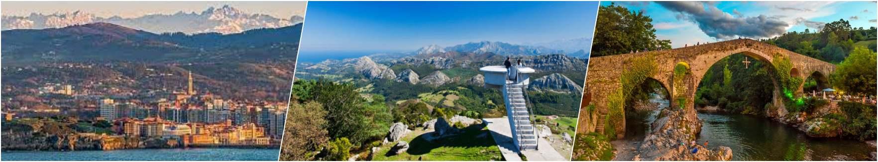 Gijon - Picos de Europa - Cangas de onis