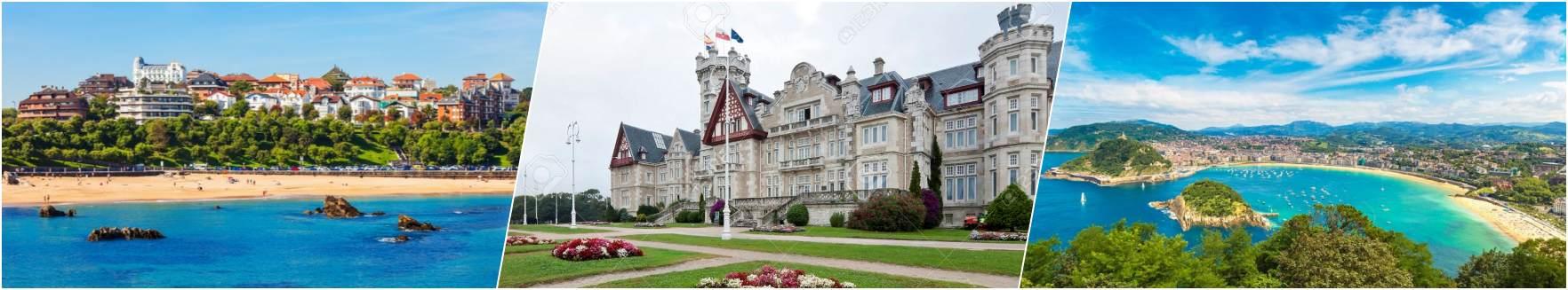 Santander - Magdalena Palace - San Sebastian
