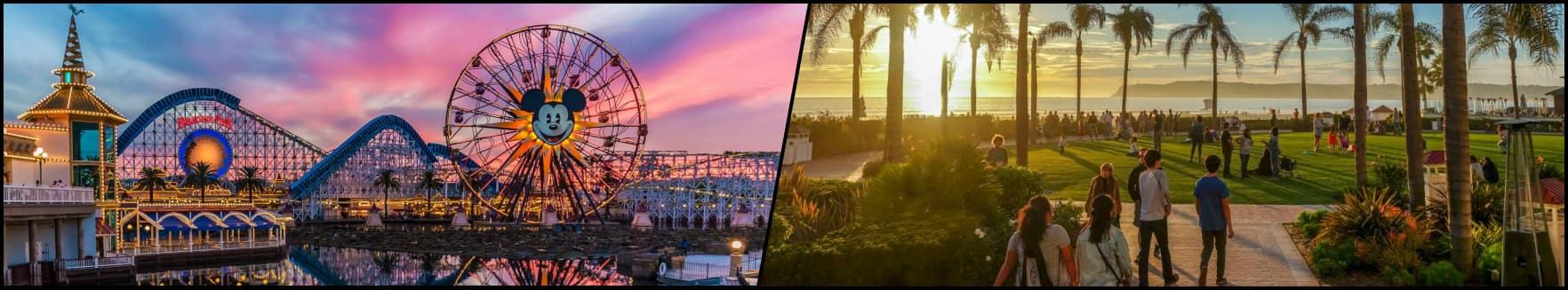 Los Angeles - Disneyland/San Diego