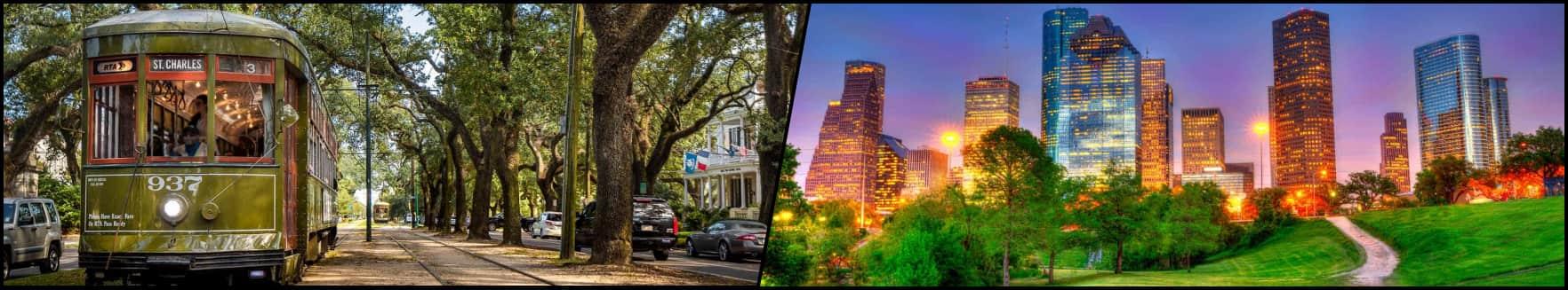 New Orleans - Houston