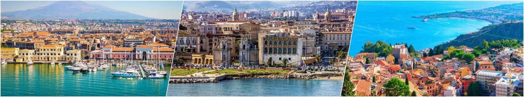 Catania - Palermo - Taormina