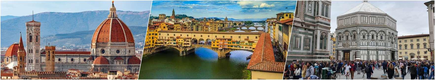Duomo-Ponte Vecchio-Baptistery