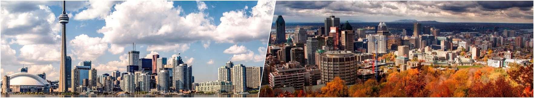 North Canada - NYC - Boston