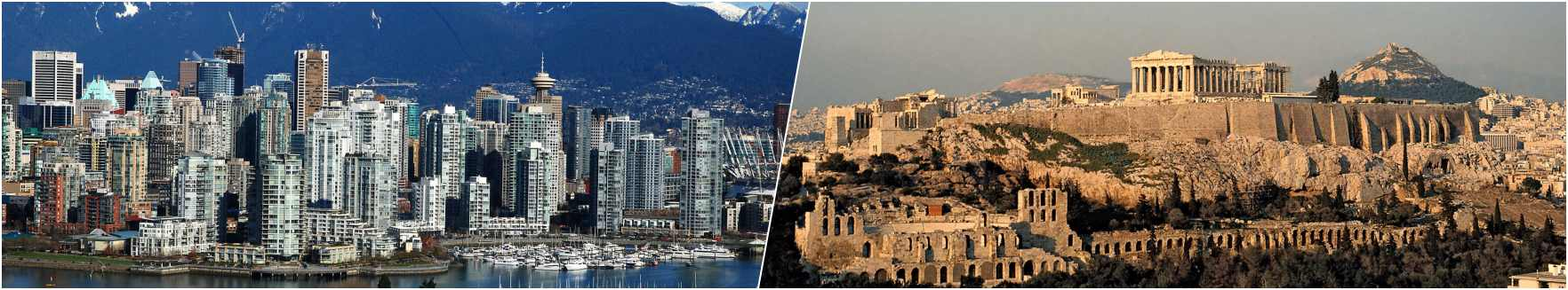 Vancouver - Athens