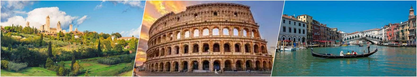 Siena-Rome-Venice