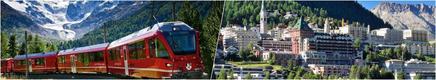 alpine train-st.moritz
